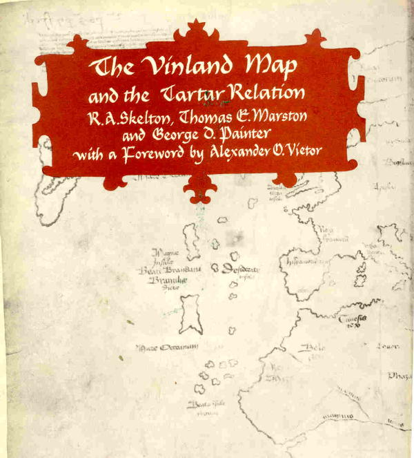 Vinland Map High Resolution The Vinland Map and the Tartar